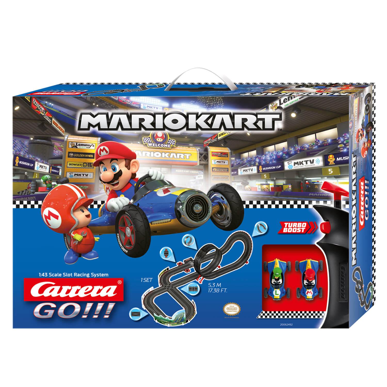 Circuit de voitures Carrera Go : Nintendo Mario Kart 8 Mach 8