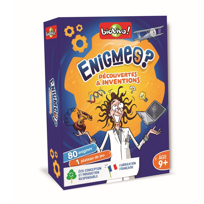 Enigmes - Découvertes et inventions