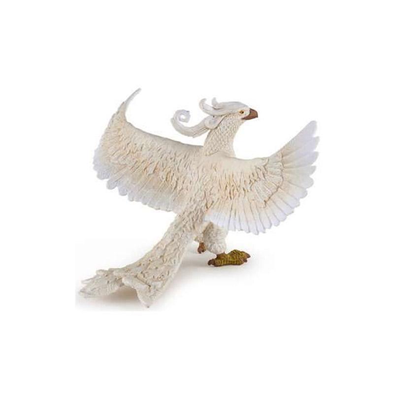 Figurine Phénix blanc