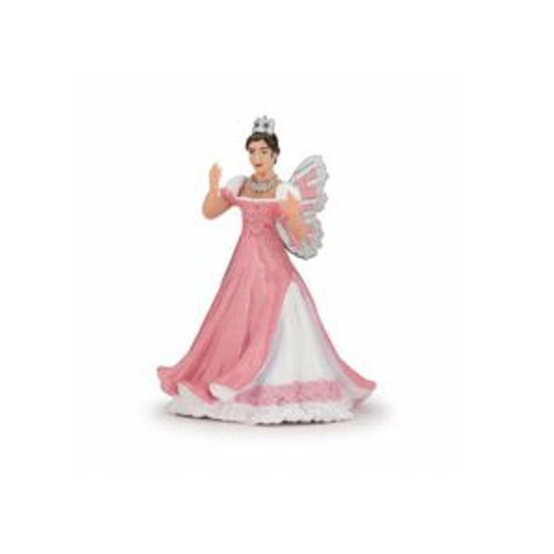 Figurine Reine des elfes rose