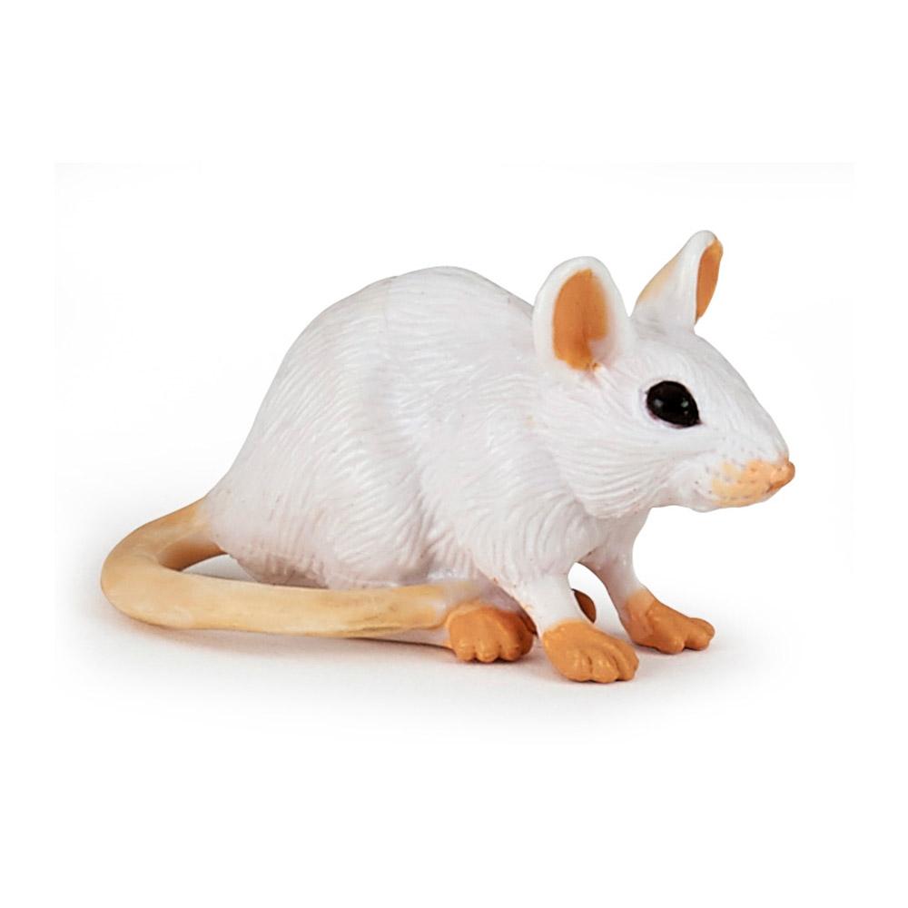 Figurine Souris blanche