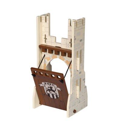 Extension château du maître des armes : Pont levis