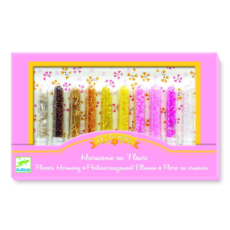 Oh! les perles : Rocailles Harmonie en fleurs