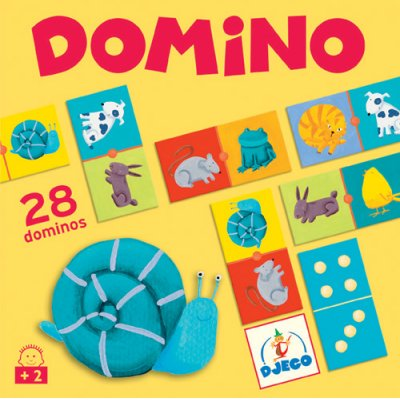 Domino : Animaux couleurs