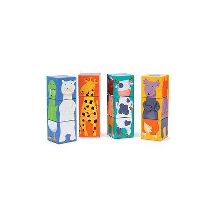 Cubes par 12 : Animaux couleurs