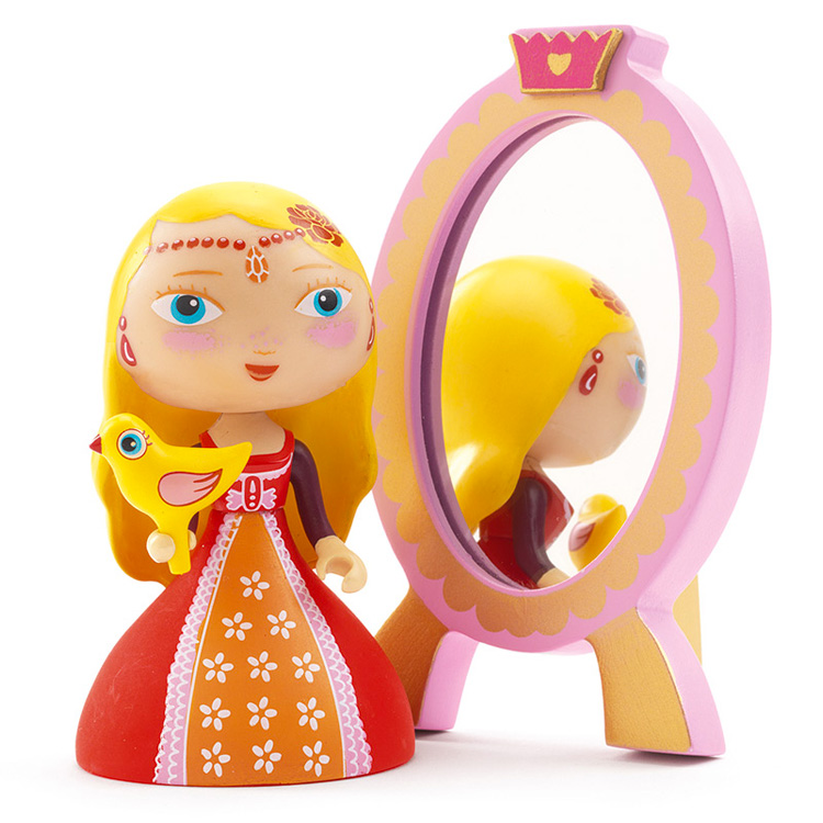 Figurine Arty Toys : Les princesses : Nina & Ze mirror