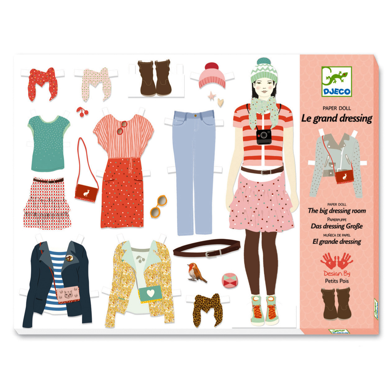 Kit créatif Au bonheur des filles : Oh! la mode : Le grand dressing