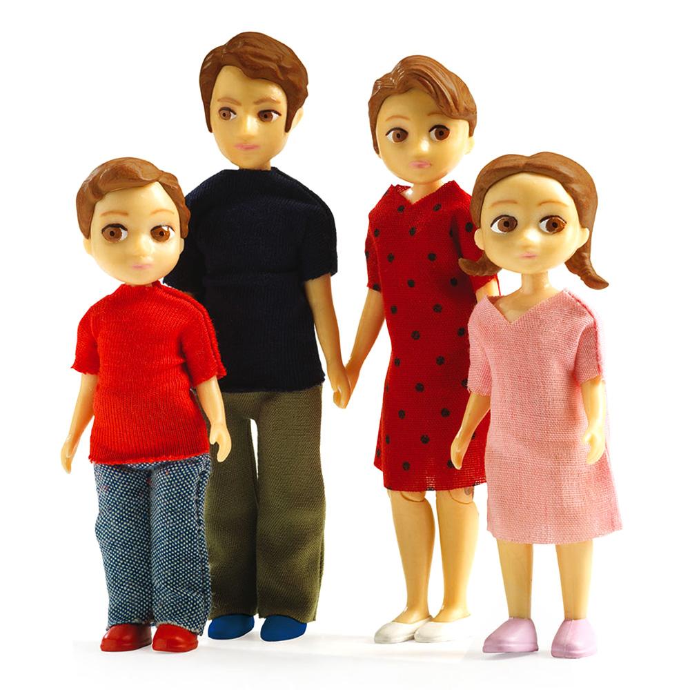 Famille pour maisons de poupées Petit Home : Thomas et Marion