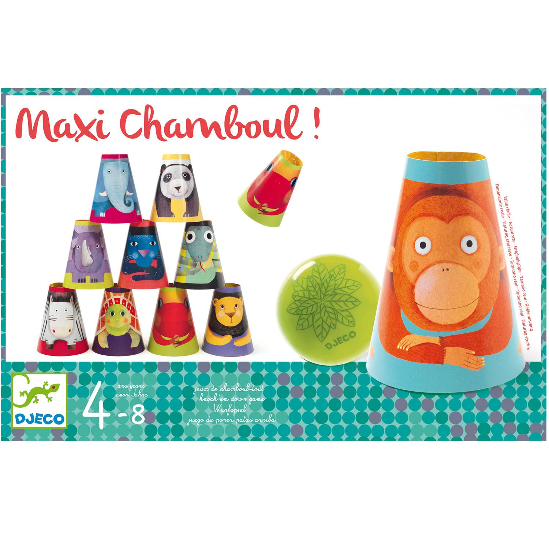 Chamboule-boum géant Animaux