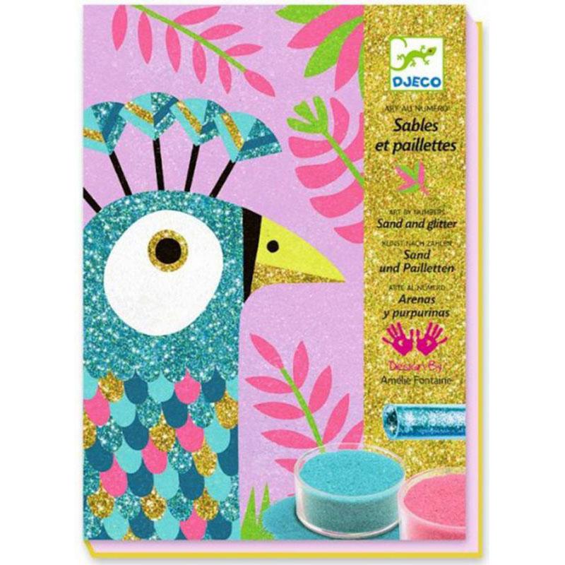 Sables colorés : Eblouissants oiseaux