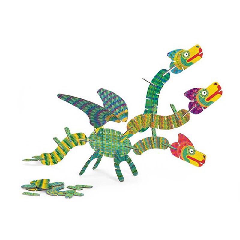Jeu de construction : Volubo Dragon