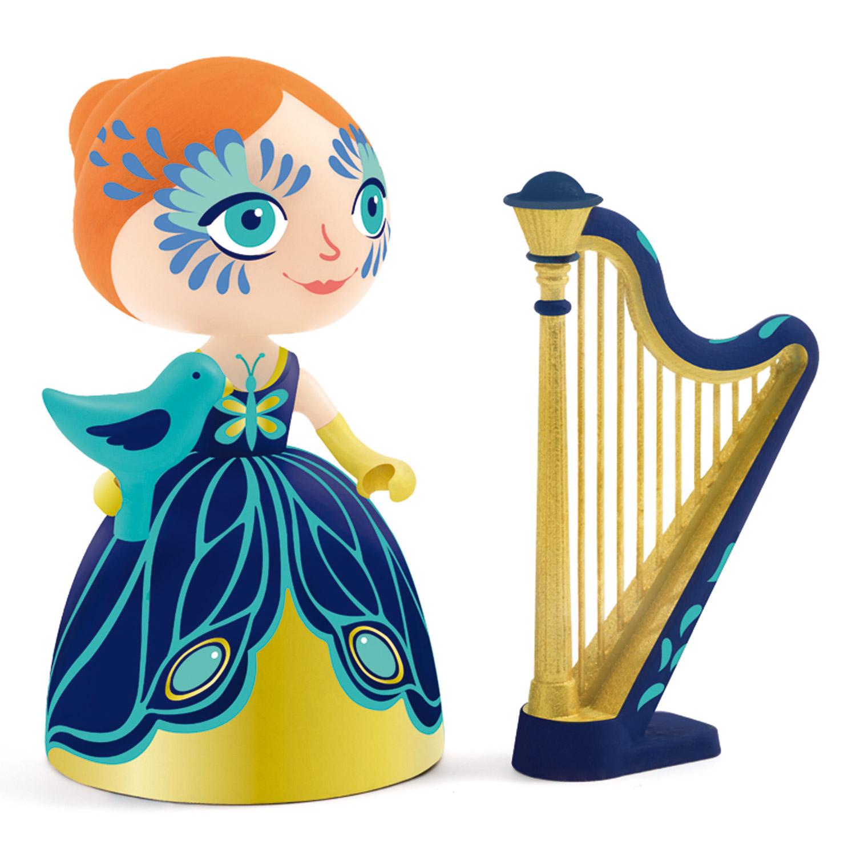 Figurine Arty Toys : Elisa et Ze harpe