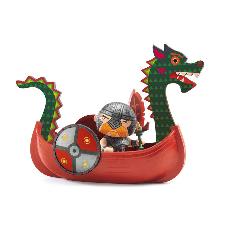 Figurine Arty Toys : Drack et Ze drakkar