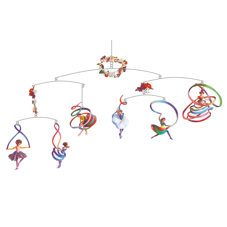 Mobile décoratif : Danseuses