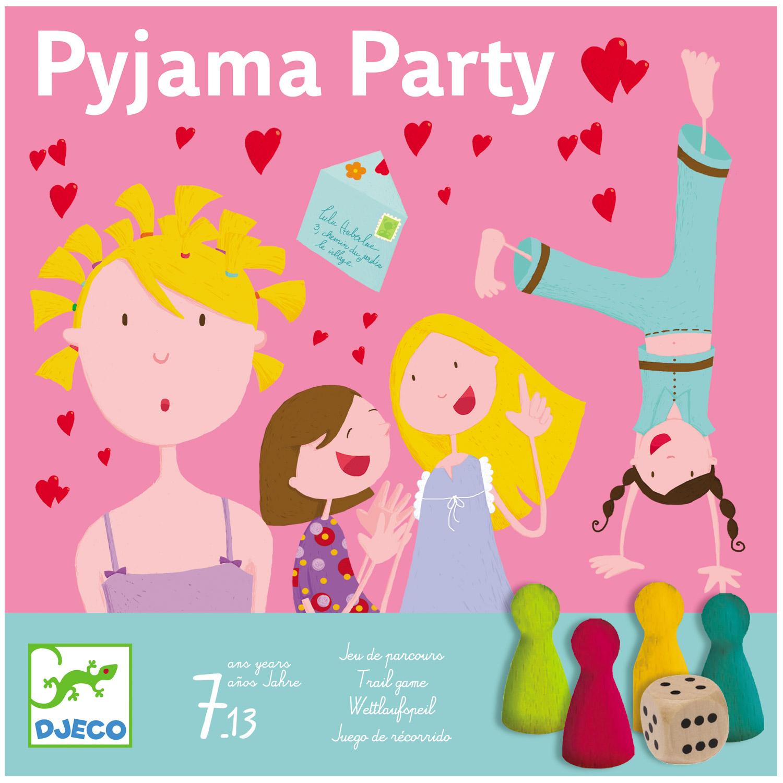 Jeu de parcours : Pyjama party