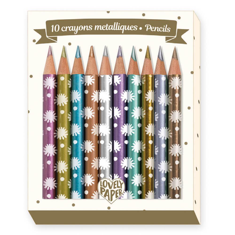 Crayons métalliques Chichi