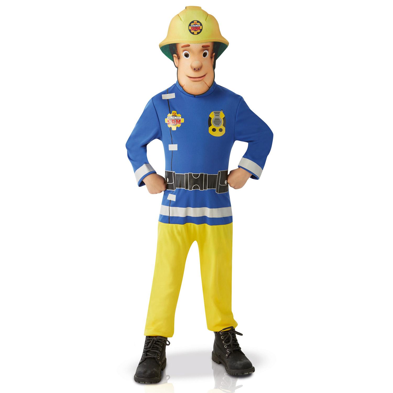 Déguisement Sam le Pompier : 3/4 ans