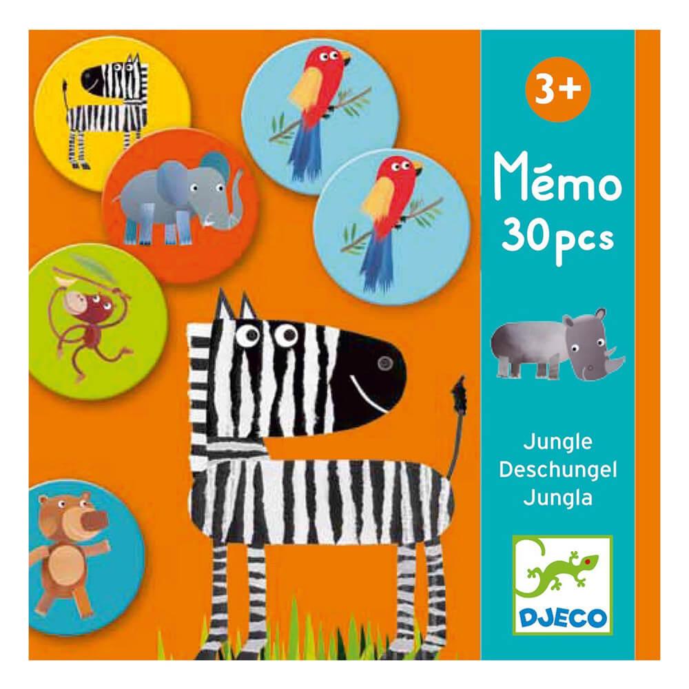 Mémo : Jungle 30 pièces