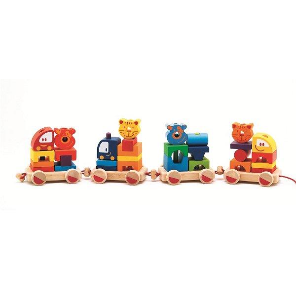 Cubes Créaroule : Mon petit train