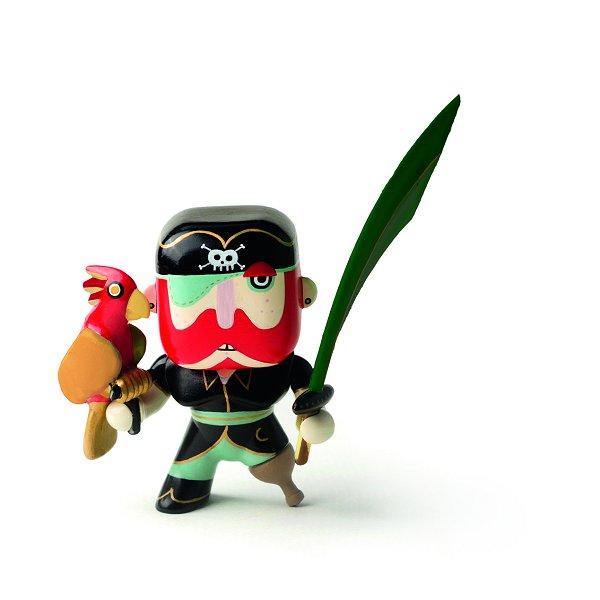 Figurine Arty Toys - Les pirates : Sam Parrot