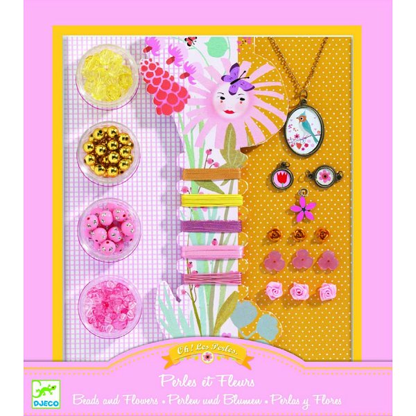 Perles Au bonheur des filles : Oh! les perles Perles et fleurs