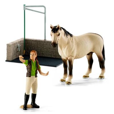 Box De Lavage Chevaux Accessoire Pour Figurine Schleich 42104