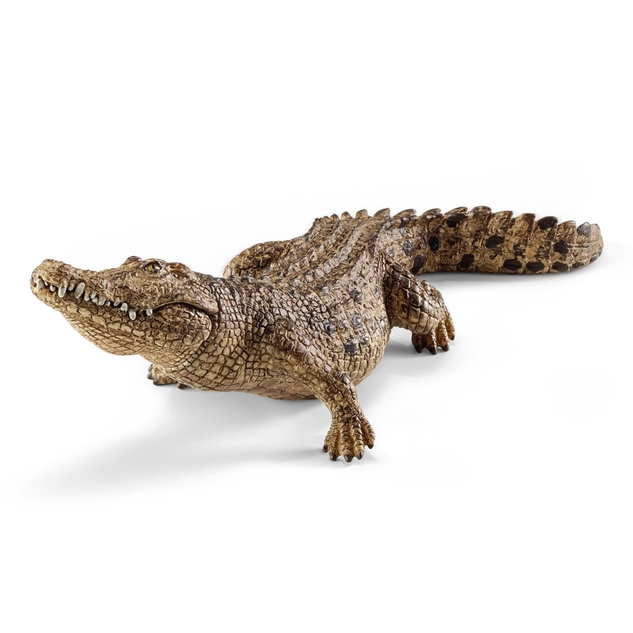 Couleur blanche crocodile jeune 11 CM animaux sauvages papo 50141