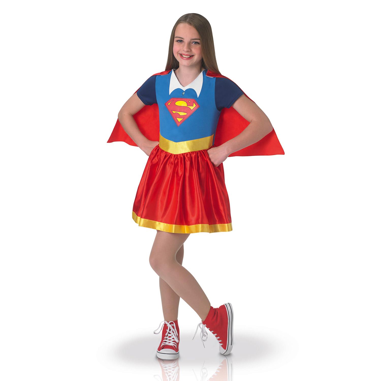 Déguisement DC Super Hero Girls : Supergirl : 7/8 ans