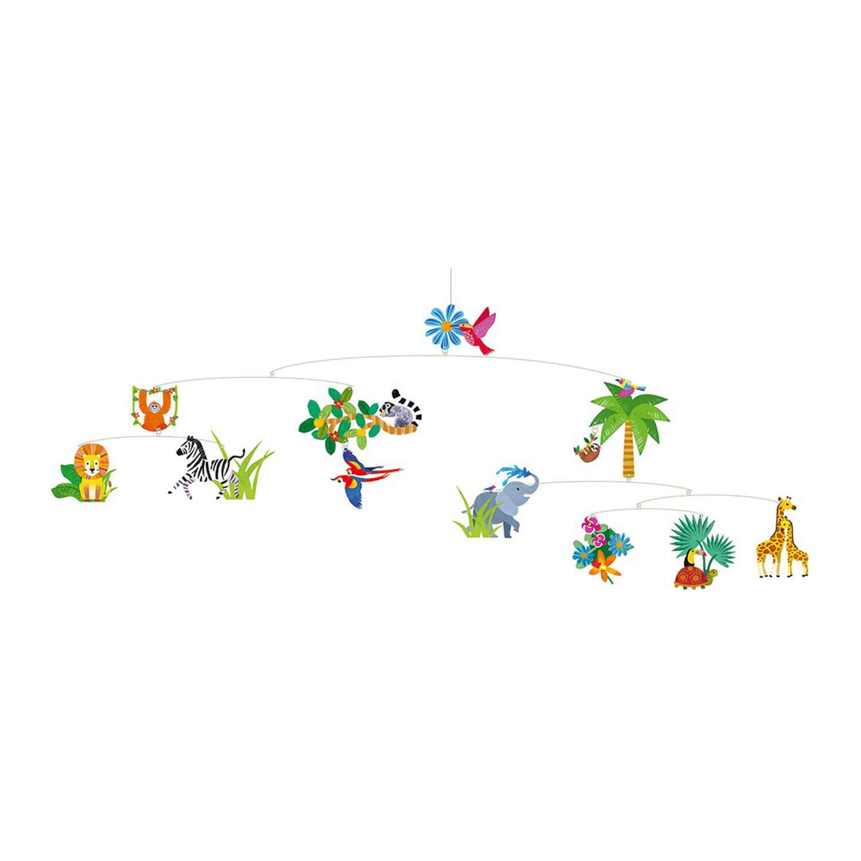 Mobile décoratif : Le monde de la jungle