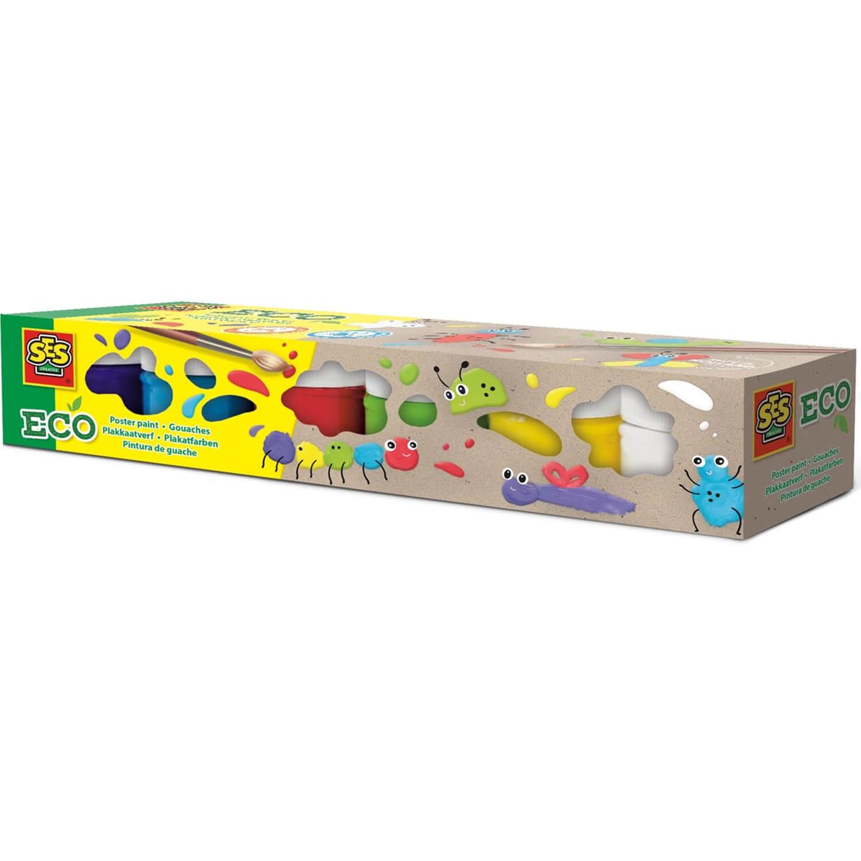 ECO gouache : 6 pots de peinture