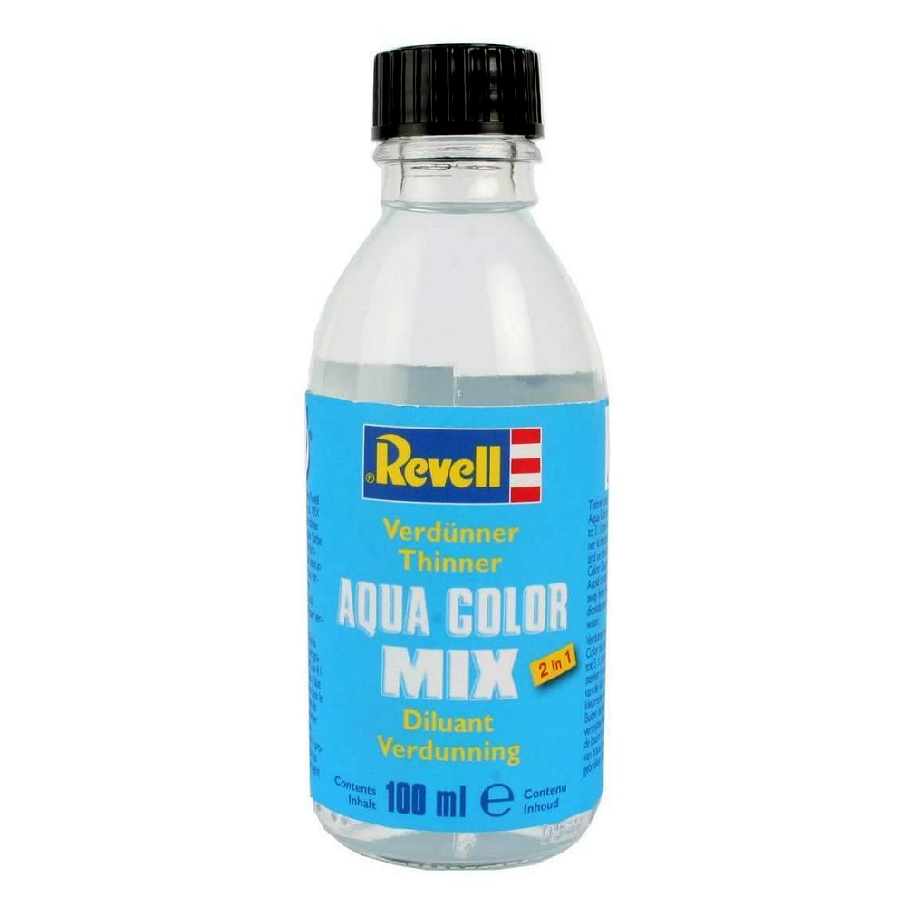 Diluant Aqua Color mix : Flacon de 100 ml