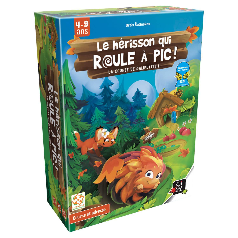 Roulapik - Le Hérisson qui roule à pic