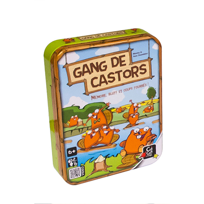 Gang de castors : Boîte métal