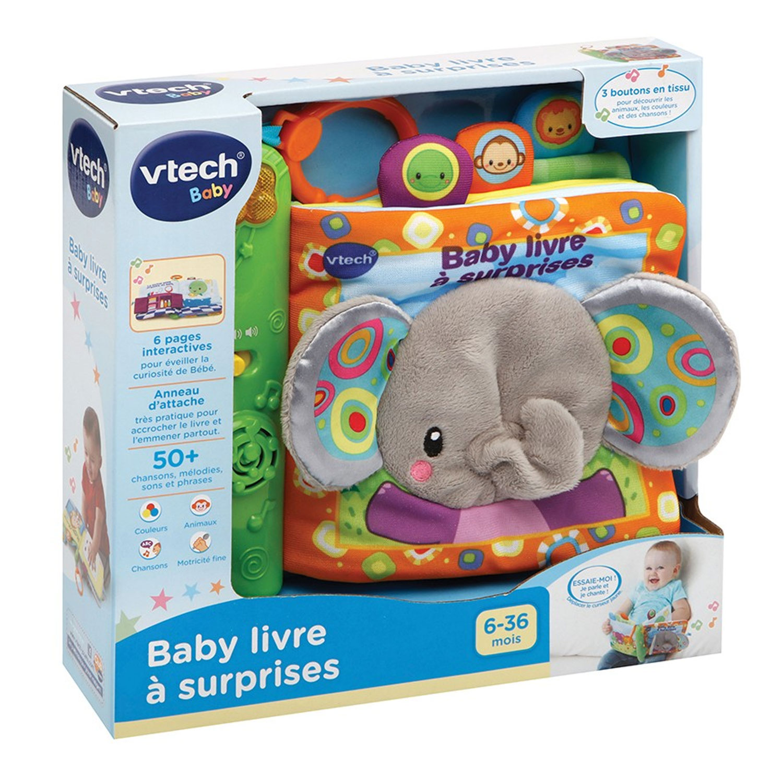 Livre Interactif Baby Livre A Surprises
