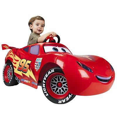 acf746d2d397d Voiture électrique Cars Flash McQueen 6V - Jeux et jouets Feber ...