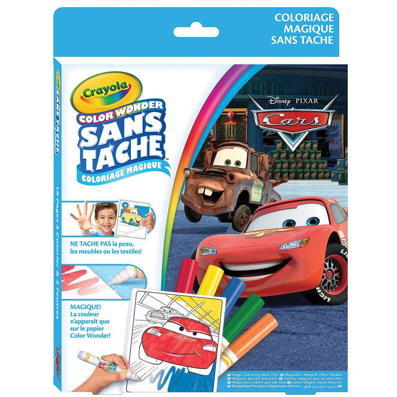 Coloriages Color Wonder : Cars - Jeux et jouets Crayola - Avenue des Jeux