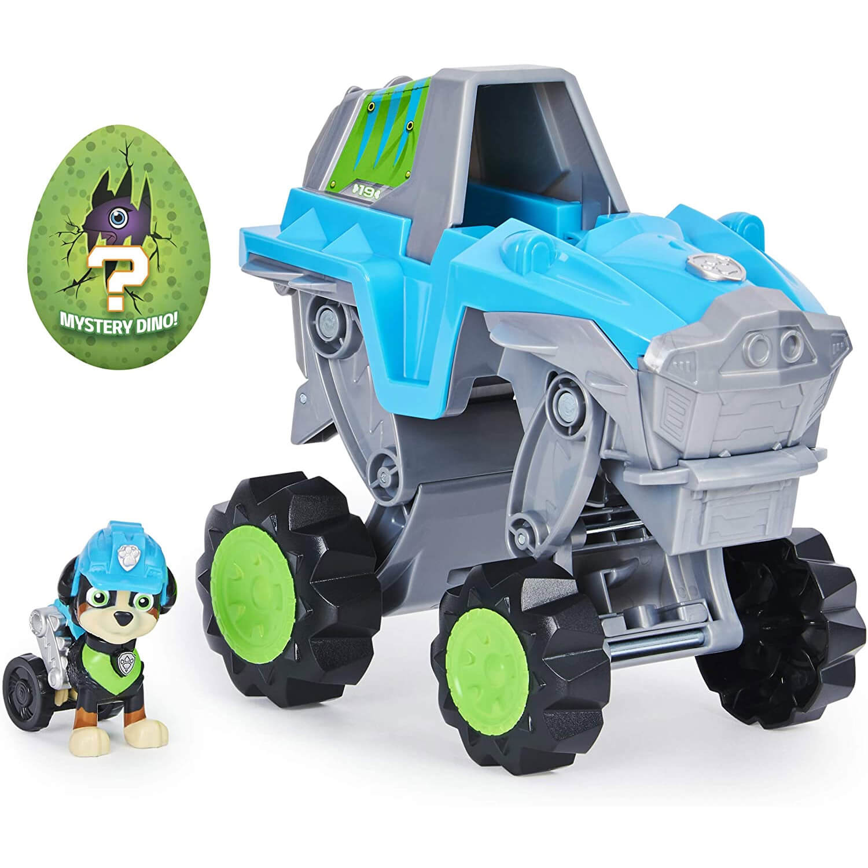 Véhicule et figurine Pat' Patrouille (Paw Patrol) Dino Rescue : Rex