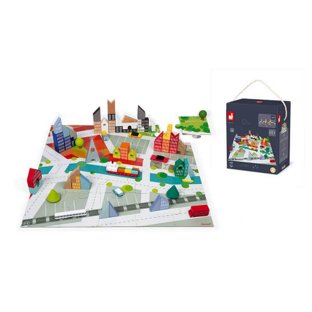 Kubix 60 Blocs et Puzzle Ville