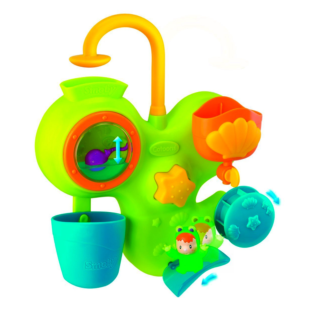 Jouet pour le bain : Aquafun Cotoons