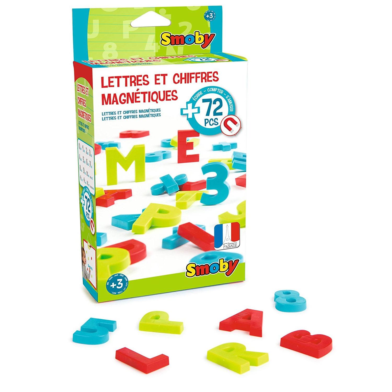 Lettres et chiffres magnétiques
