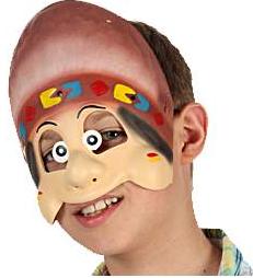 Demi Masque Enfant - Indien