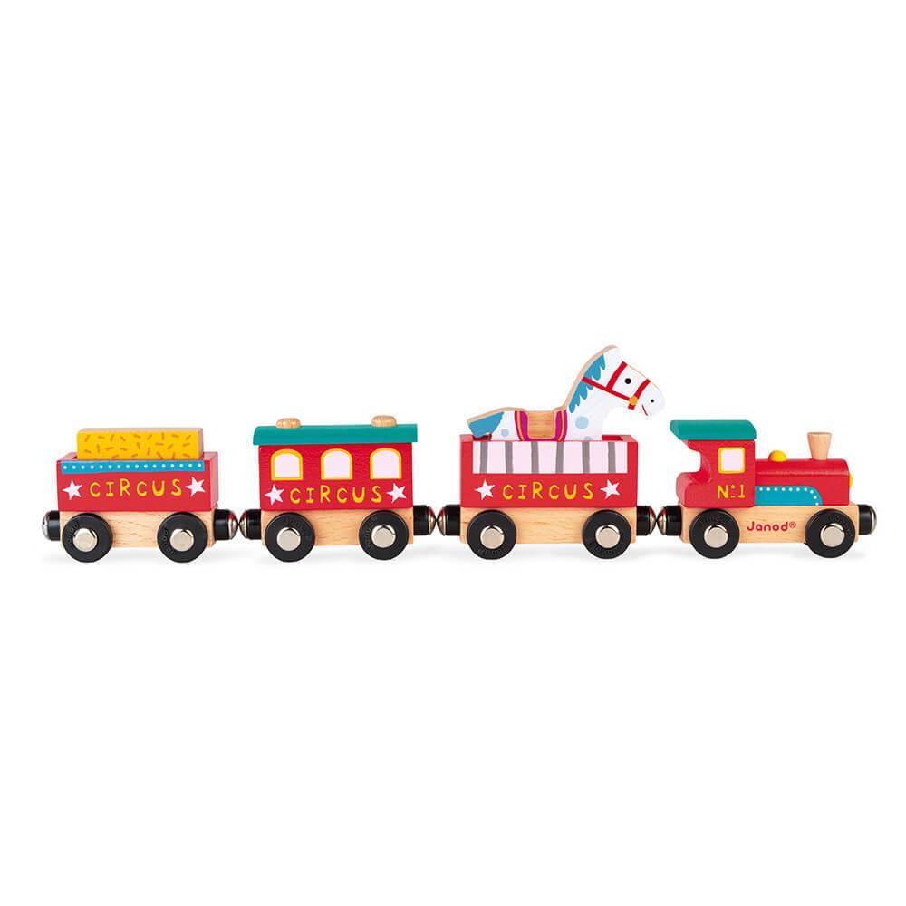 Train Cirque en bois