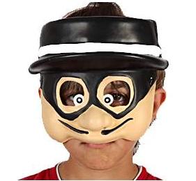 Demi Masque Enfant - Justicier Masqué