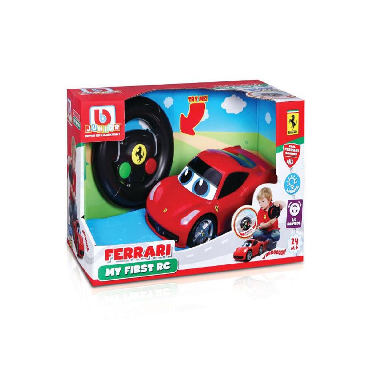 Mon premier véhicule télécommandé : Ferrari