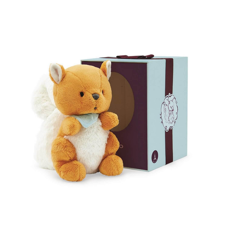 Kaloo Les Amis Peluche 25 cm : Biscotte l'écureuil