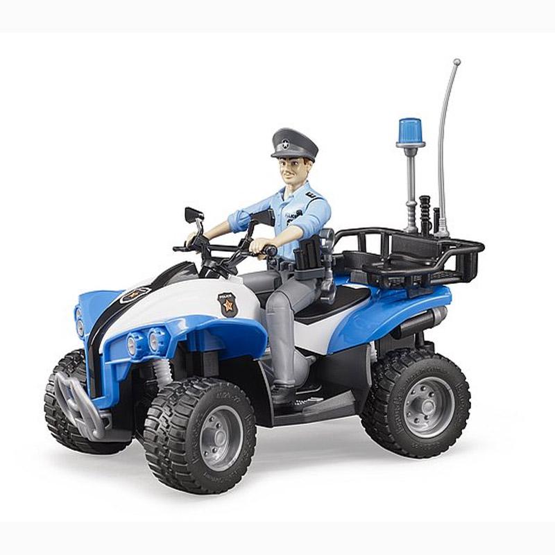 Quad Police avec personnage