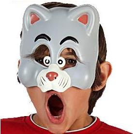 Demi Masque Enfant - Bébé Loup