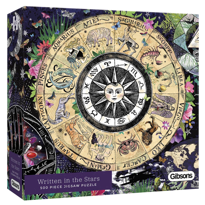 Amanda Hillier Écrit dans les étoiles 500 Pièce Gibsons Puzzle astrologie G3600