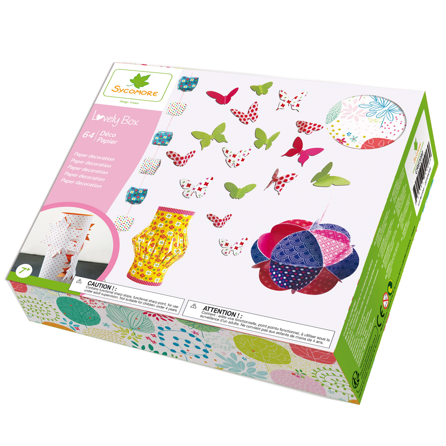Coffret Lovely Box : Déco papier