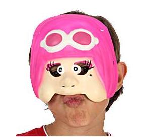 Demi Masque Enfant - Pilote Fille